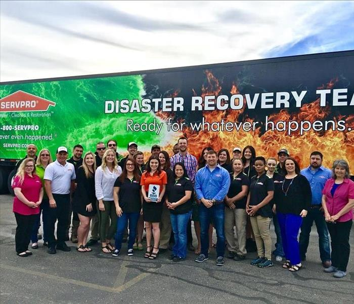 Better Business Bureau Visits SERVPRO