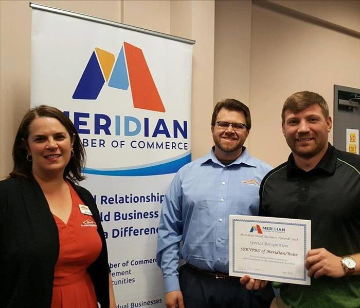 Meridian Chamber of Commerce 2018 Business Awards Luncheon