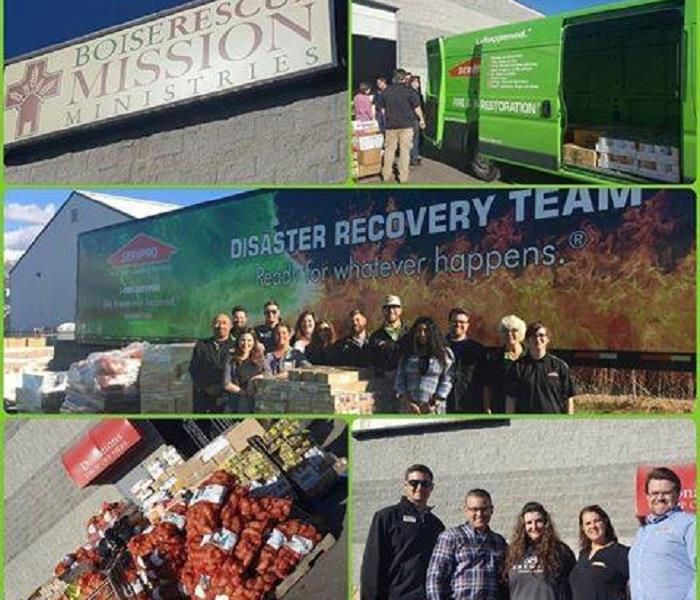 2016 Boise Rescue Mission Food Drive