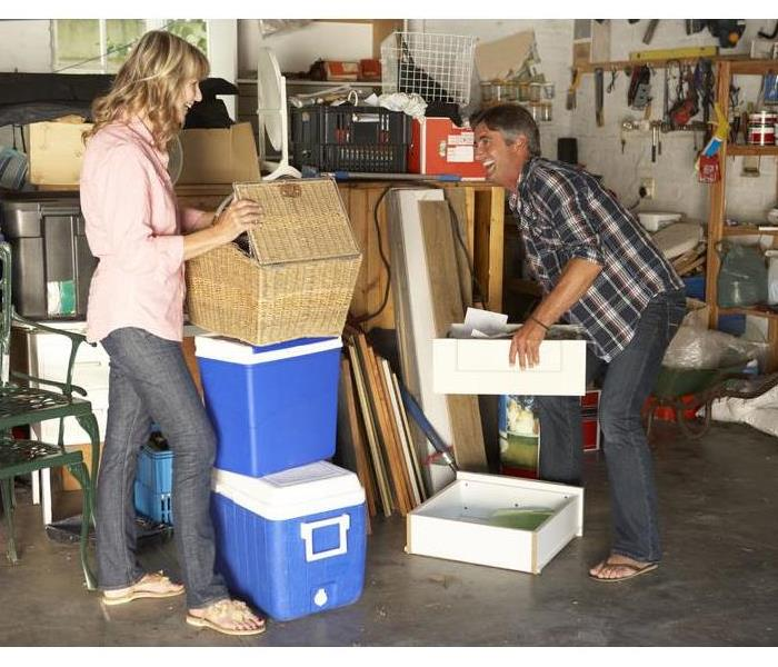 Why SERVPRO 5 Things NOT to Store in Your Garage