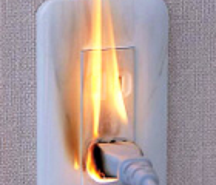 Fire Damage Preventing Electrical Fires with Nine Easy Tips