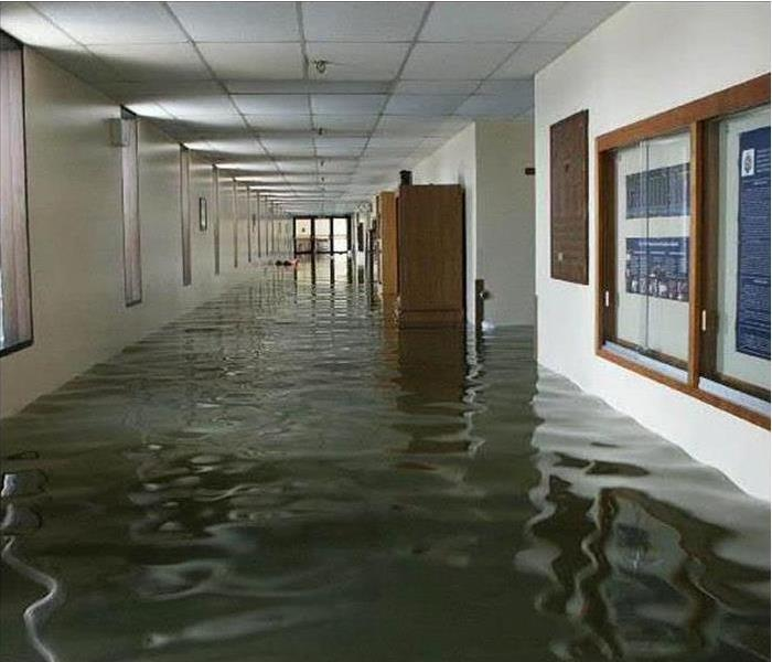 Water Damage How SERVPRO Can Help Your Business Prepare for Large Loss Water Damage